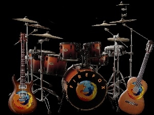 Percussion, FireFox, Guitars