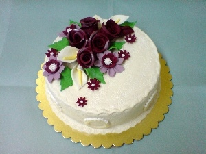 Extras, Floral, Cake