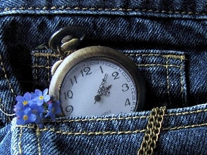 Forget, Watch, jeans, pocket