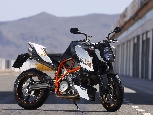 Orange, frame, KTM 990 Super Duke R