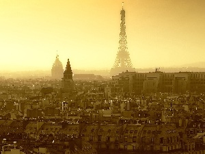 France, Town, Eiffla Tower