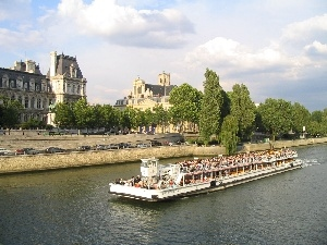 France, Paris, panorama, town