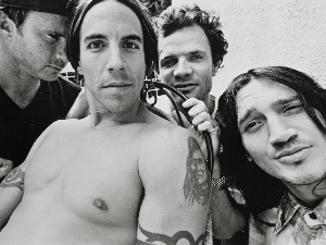 John Frusciante, Flea, Chad Smith, Anthony Kiedis