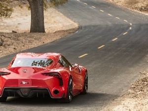 Concept, FT-1, red hot, Way, Toyota