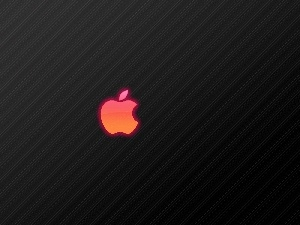 glow, Pink, Apple, logo