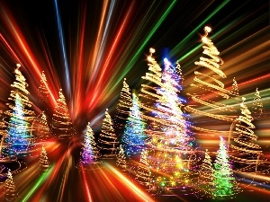 graphics, Bursts, color, 3D, Christmas