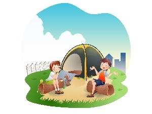 graphics, holiday, Kids, Tent
