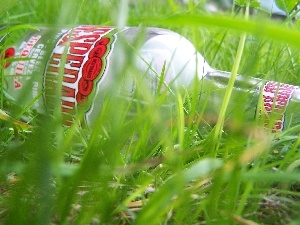 grass, Bottle