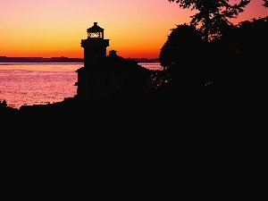Great Sunsets, Lighthouses, Sky