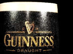 Guinness, beer, mug, dark