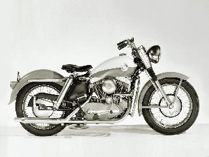 Harley Davidson XL Sportster, antique