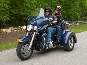 travel, Harley Davidson Tri Glide Ultra Cl