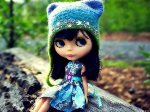wool, Hat, doll