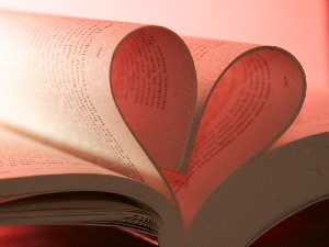 Cards, Heart, Book