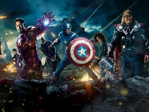 Heroes, Piles, The Avengers
