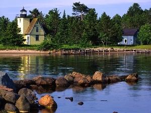 maritime, Home, Lighthouse