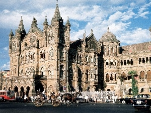 Bombay, india, Castle