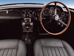 interior, Aston Martin DB5