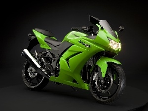 Kawasaki Ninja 250R, green ones