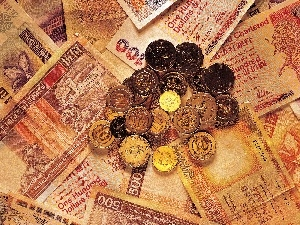 Kong, Hong, money, coins