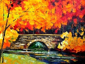 autumn, Leonid Afremov