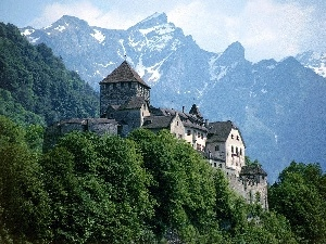 Liechtenstein, Castle