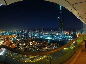 light, color, Dubaj, night