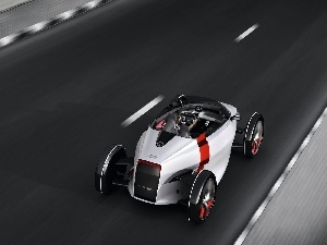 Light, construction, Audi Urban Spyder