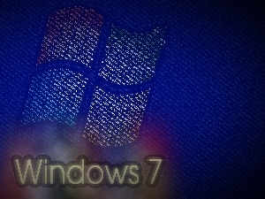 logo, operating, Windows 7, system