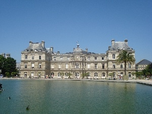 Luxembourg Gardens, Paris, palace