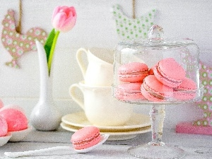 Macaroons, Cookies, decor, easter