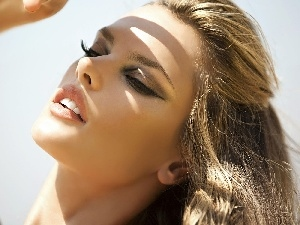 make-up, Alessandra Ambrosio
