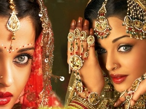 make-up, jewellery, Women