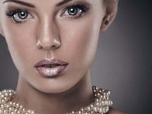 make-up, Pearl, Women