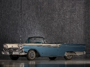 motor car, vintage, Ford Galaxie