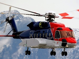 Mountains, Sikorsky S-92