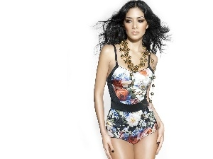 Necklace, top, Nicole Scherzinger, color