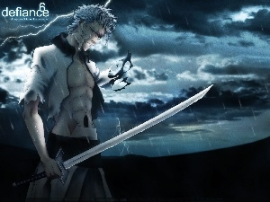 sword, Night, Grimmjow