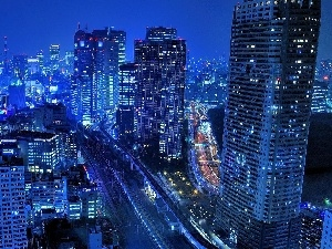 night, Tokio