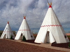 North, america, Tipi, Arizona