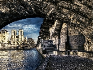 France, Paris, chair, Notre Dame