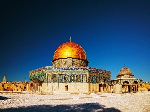 Dome of the Rock, mosque, Israel, Jerusalem
