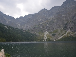 Morskie Oko, Mountains