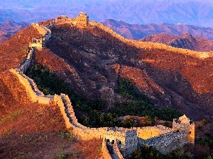 panorama, Great Chinese Wall