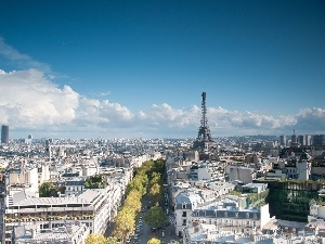 Paris, Eiffla Tower, Town
