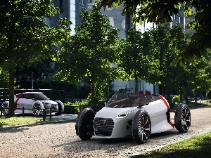 parking, Audi Urban Spyder