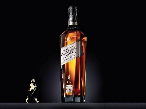 Platinum, Johnnie, Walker, Bottle, Label, Whisky