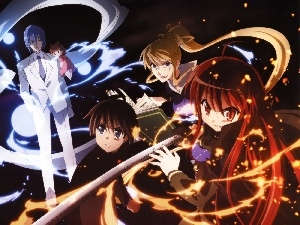 Princess, katana, Shakugan No Shana