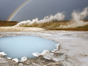 Great Rainbows, geyser