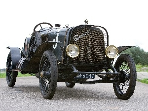 Rally automobile, classic, Chandler Curtiss